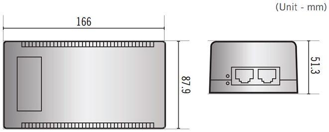 Afmetingen DA-PI1101